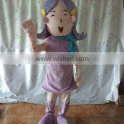 smile girl cartoon costume NO.2674