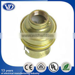 Brass lampholder B22 socket