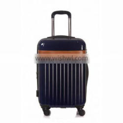 deep blue abs /pc luggage case