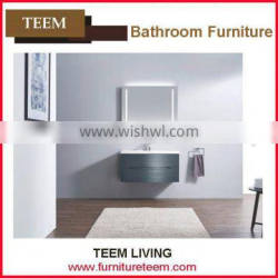 North America Style Modern Solid Wooden Vanity For Sale thin bathroom sinks