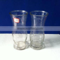 900ml big clear glass vases for flowers