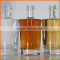 Hot sales OEM glass whisky bottle packaging