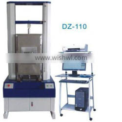 Rubber material high low temperature chamber material tensile strength testing machine