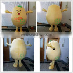 HI CE customized mascot costume for adult size,potato mascot cosutme with high quality