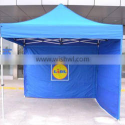 Easy up warehouse tent