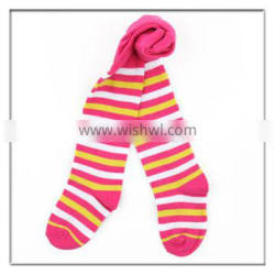 fashion stripe young baby girls pantyhose