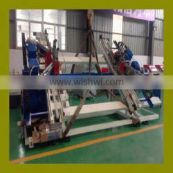 PVC profile windows four head welding machine PVC corner welding machine