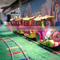 Amusement Park Electric Train, Kids Electric Track Train for Children