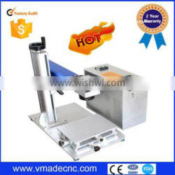 Factory for sale 30W fiber laser marking machine price for plastic metal and non-metal