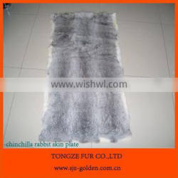 hot selling products rabbit fur plate for winter boot