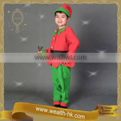 Christmas Elf costume set w/Hat kids party dresses