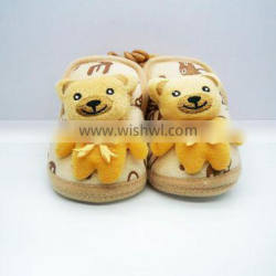 Babyfans Cotton Fabric With Cartoon Design Soft Baby Shoes