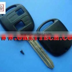 Okeytech toyoya key shell Toyota prado 2 buttons remote key shell for toyota prado remote key