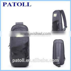 china suppiler whosale fashion mens' chest bag, crossbody bag.