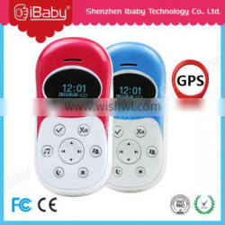 Ibaby salable Christmas gift child gps tracker gps kids mobile phone with sos number
