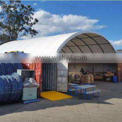 Igloo container shelter , storage shelter tent , warehouse tent , warehouse shelter