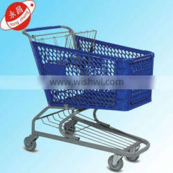 HOT SALE! European style shopping carts for supermarket