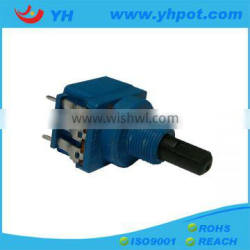 jiangsu 17mm rotary b503 joystick potentiometer with switch for dimmer
