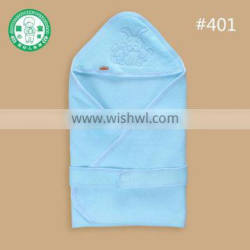 100% cotton polyester fibre rabbit hooded embroider baby muslin blanket