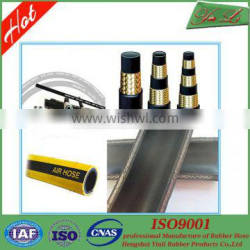 Oil resistant one steel wire braided hydraulic hose in costly