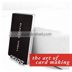 CR80 credit card size blank magnetic stripe card