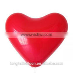 2016 hot sell heart shaped balloon for party decoration
