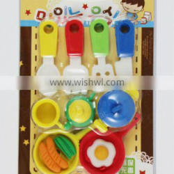 3d puzzle erasers for children,tool shaped funny eraser