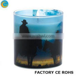 candle holder with metal lid clear votive candle jars glass material