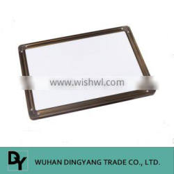 Popular with thick aluminum frame painted magnetic white board