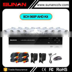 Free Customized Service 960P AHD cctv security system, hd 8 channel cctv camera system Quality Choice