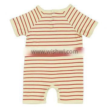 Organic different Color Romper for babies with short and long sleeved baby rompers and 100% Organic cotton baby clothes romper