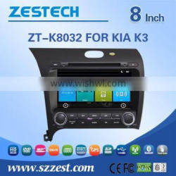 GPS digital media player touch screen car dvd car gps For K3 with Win CE 6.0 system 800MHz 3G Phone GPS DVD BT