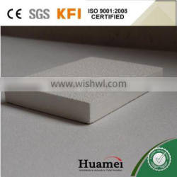 Fiberglass eco-friendly ceiling boards with CE certificate and SGS report