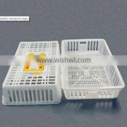 ploutry plastic transport cage used for chicken