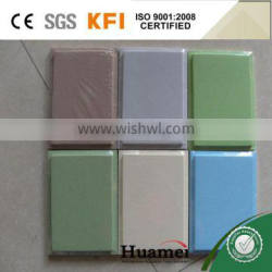 Tegular edge acoustic ceiling board for interior decoration and supermarket