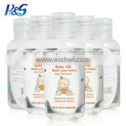 Flavored baby oil/Wholesale msds baby skin whitening body oils flavored baby oil