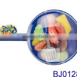 Wholesale baby toy funny plastic kitchen vegetable and food toys set