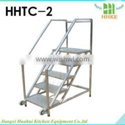 Metal cart stainless steel mobile cart in high quality