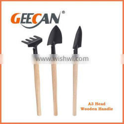 Hot sale and cheap garden tool set with rake and shovel garden tools sets