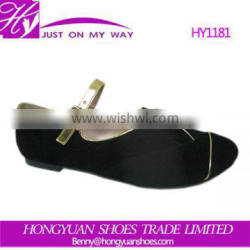 The unique design preferential price new fashion flat shoes for girls