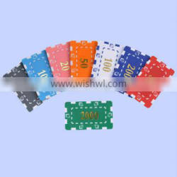 customize Rectangular Poker Chips with your own design,square poker chips with your own logo,