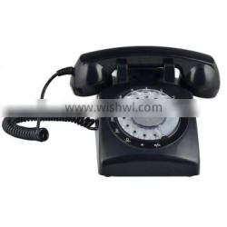 Old Black Phone Home Desk Retro Telephone For Selling