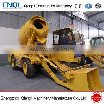 Good quality and price self loading concrete mixer for sale