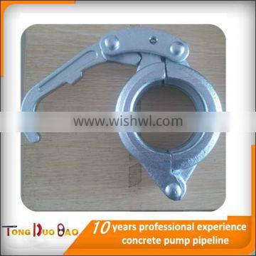 DN50mm 2'' quick-pipe clamp for coupling concrete pump pipe