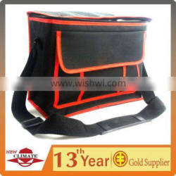 600D Oxford with PU Coating Cooler Bag for Storaging Meals / Vegetables / Frozen Products