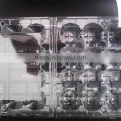 12 PCS Clear Plastic Quail Egg Tray from Shnadong manufacturer