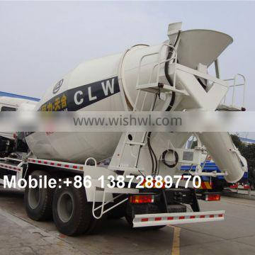 china new 10 wheeler 10 cubic meters F3000 right hand drive concrete mixer truck made in China