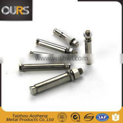 stainless steel 304 316 anchor, inox expansion sleeve fastener