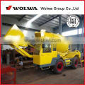 concrete mixer machine 1.2m3 with hydraulic self-loading system Quality Choice