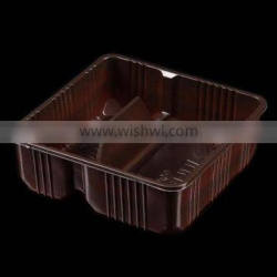 Plastic vac tray for food